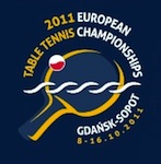 2011 European Table Tennis Championship Logo