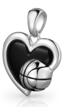 Colgante Amo el Baloncesto