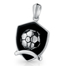 Football Shield Pendant
