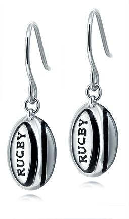 Rugby Ball Earrings